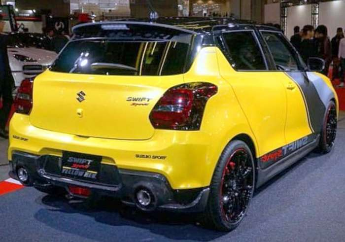 suzuki swift sport yellow rev is the fastest and lightest swift suzuki swift puma suzuki swift black stance #9