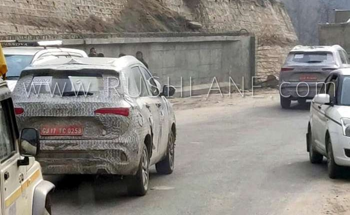 Mg Hector Suv Spied In Manali High Altitude Off Road Test