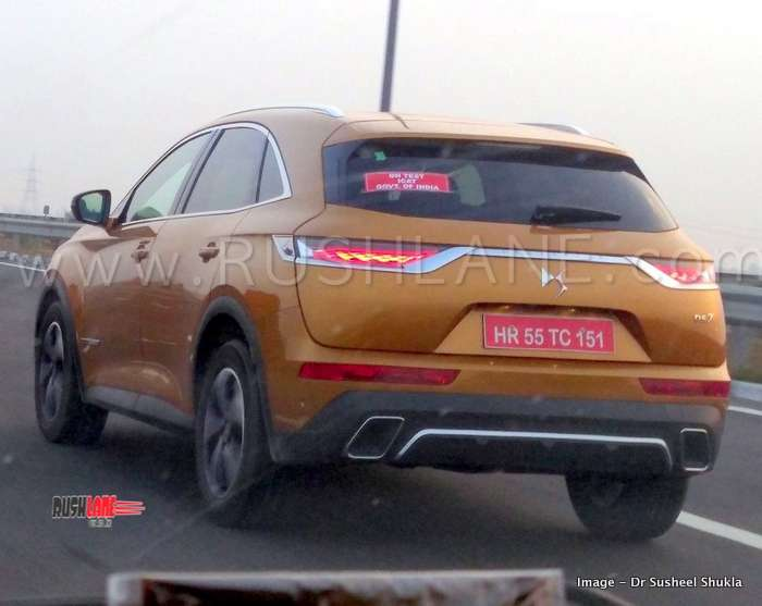 Peugeot Ds7 Suv Spied On Video On Test By Icat Govt Of India