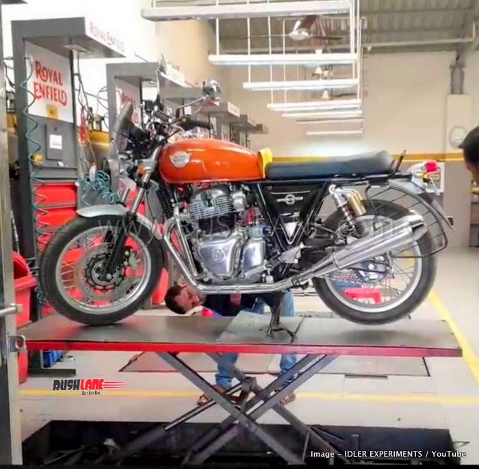 Royal Enfield 650 First Service Cost Details Shared By Owner Video