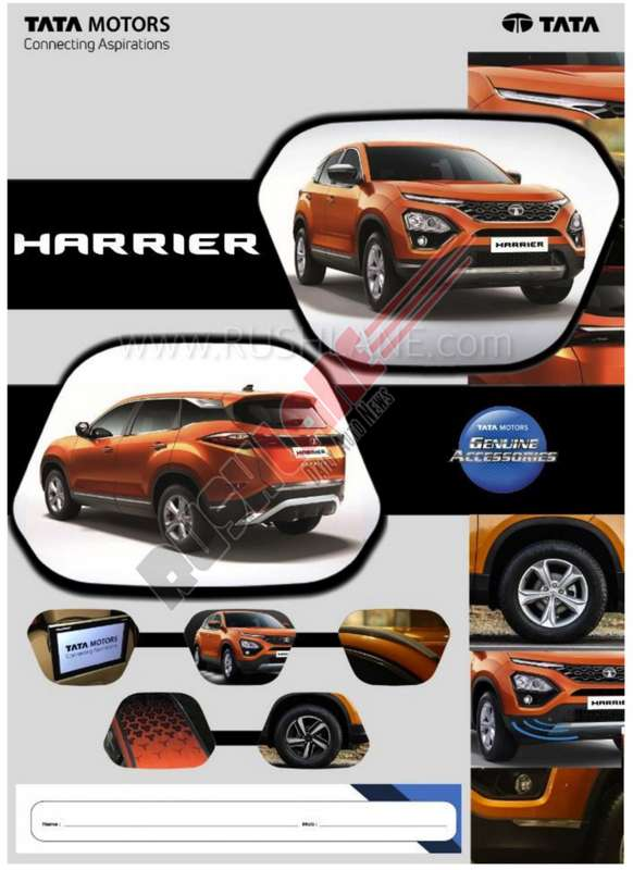 Tata Harrier Accessories Worth Up To Rs 35k Detailed