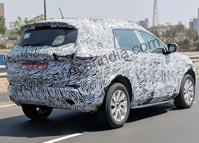 Tata Harrier 7 Seat Spied With New Alloys May Get