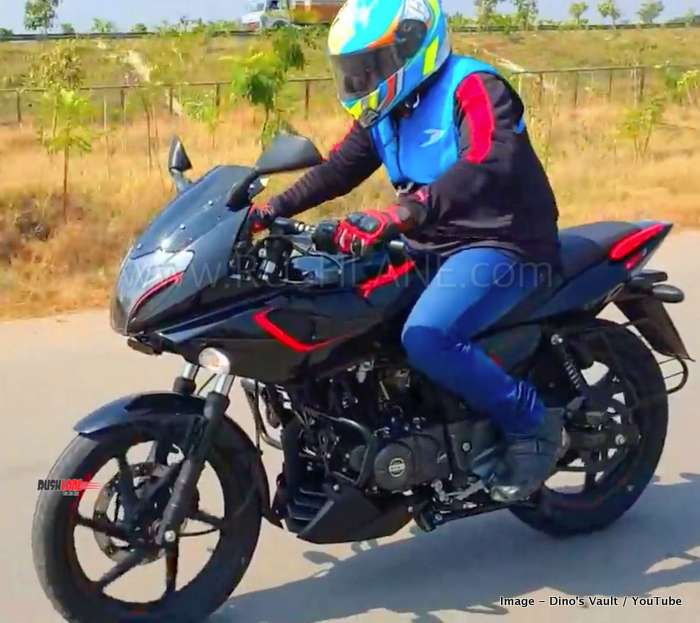 Bajaj Pulsar 180 F review video - All details about the ...