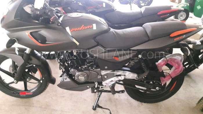 220 Auto Sales >> 2019 Bajaj Pulsar 180 F Grey colour with Orange accent spied at dealer