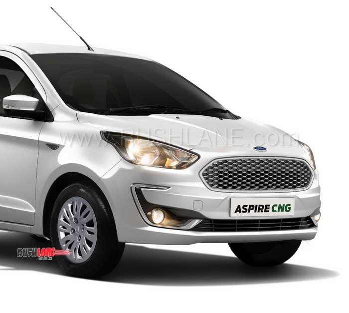 2019 Ford Aspire CNG Launch Price Rs 6.27 L