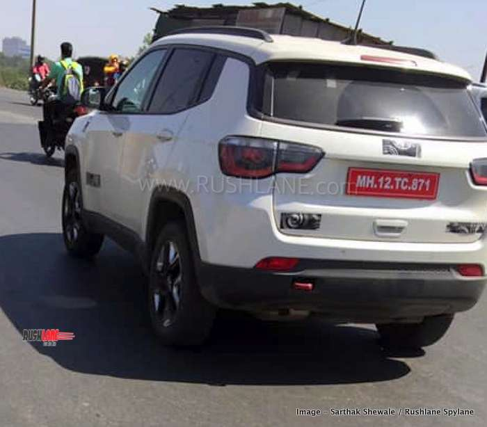 2019 Jeep Compass Trailhawk Suv Spied In White Red