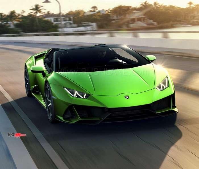 Lamborghini Huracan Evo Spyder Debuts Price 287k Apprx