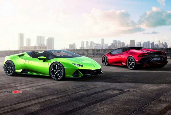 Lamborghini Huracan Evo Spyder Debuts Price 287k Apprx Rs 2 Cr