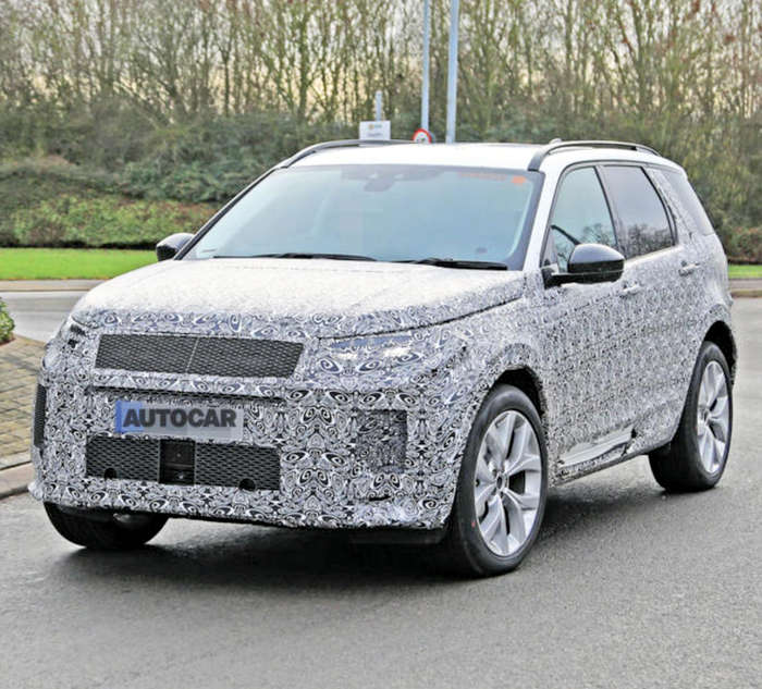 New Discovery Sport To Ditch D8 Platform