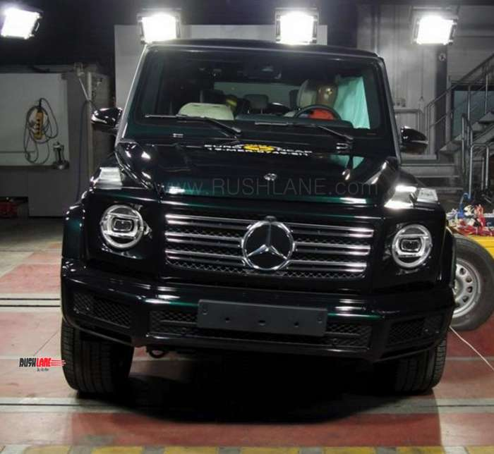 2019 Mercedes G Class Crash Tested On Video