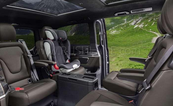 Mercedes V Class Elite India launch