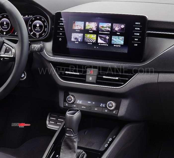 Skoda Kamiq Suv Dashboard Touchscreen Steering Wheel