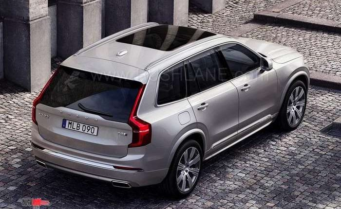 2020 Volvo XC90 facelift debuts - Gets KERS and minor styling changes