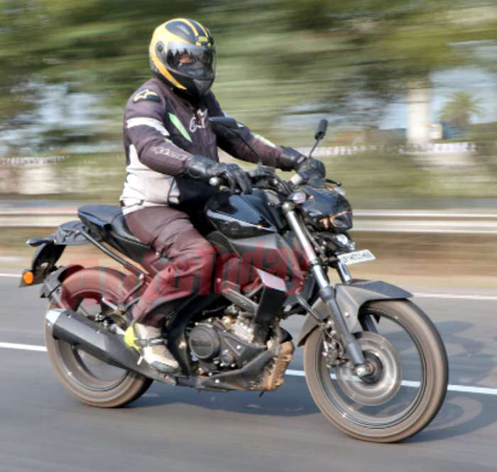 Yamaha Mt15 Test Mules Spied Again Exhaust System Revealed