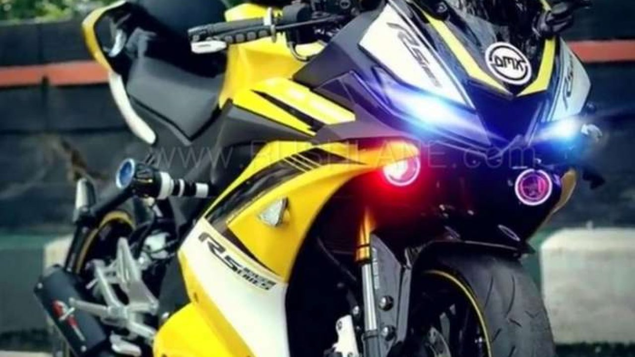Yamaha R15 V3 modified to look even more sporty - Gets performance