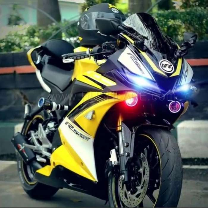 Yamaha R15 V3 modified to look even more sporty - Gets