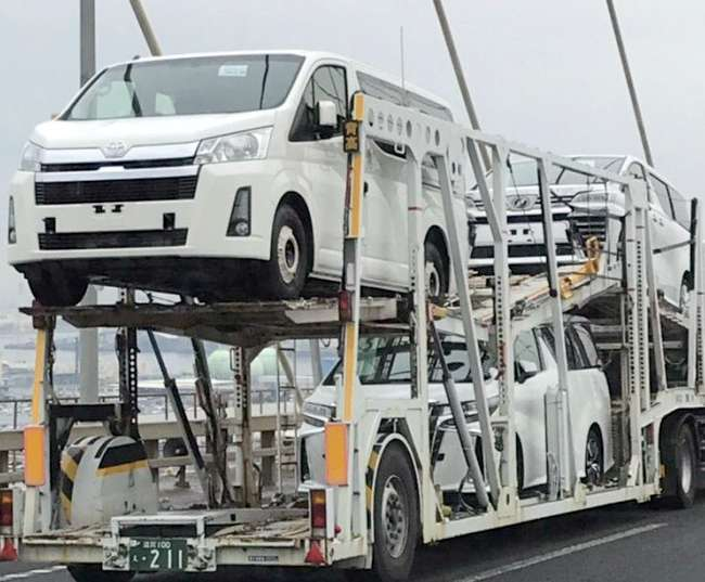 2020 Toyota Hiace Mpv Spied Undisguised Before Launch