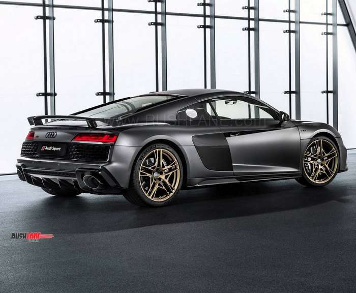 Audi R8 Decennium Edition Limited To 222 Units