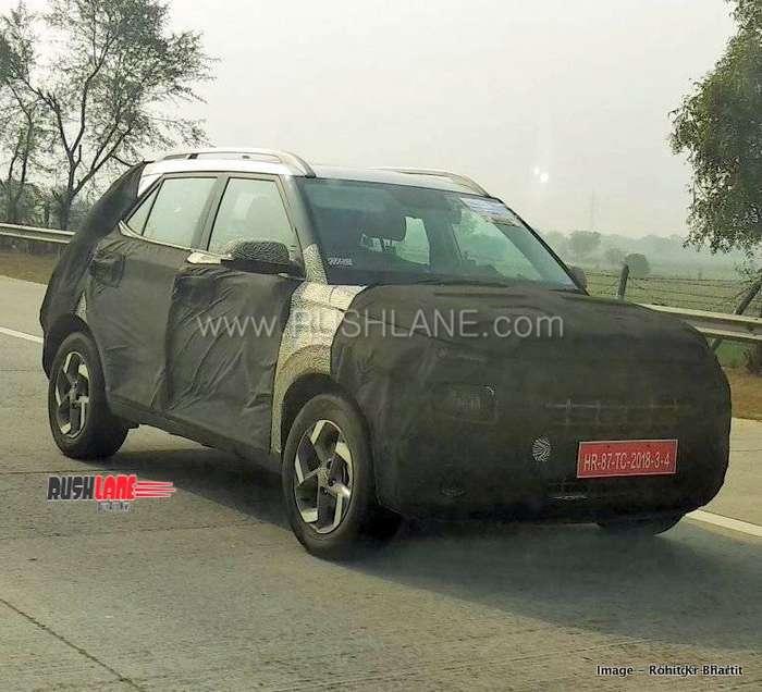 Hyundai Carlino Styx compact sub 4 m spied ahead of launch