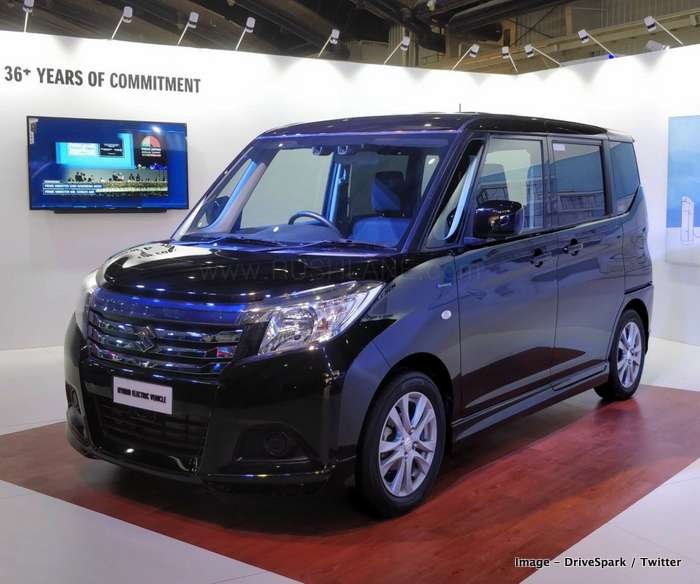 Maruti WagonR Electric, Solio Hybrid Showcased