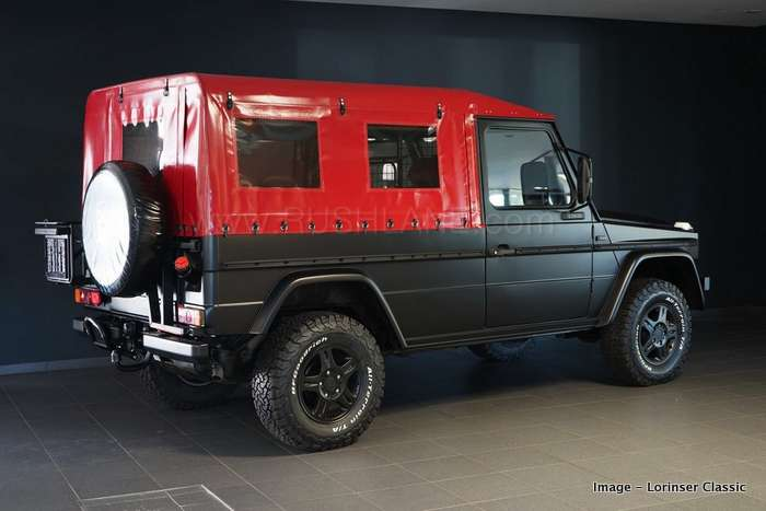 Mercedes G Class Army spec restored - On sale for $45k (approx Rs 32 L)