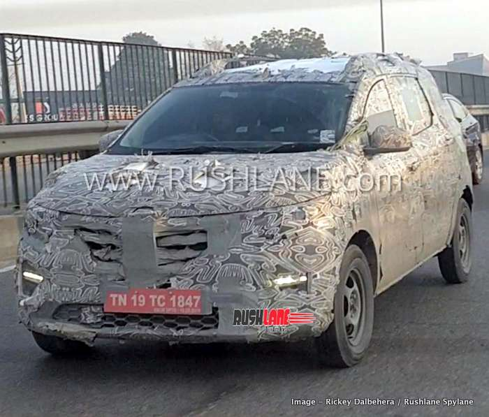 New Renault Mpv Spied Testing On Video Led Drl Confirmed