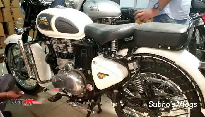 Royal Enfield Classic 350 Abs White Launch Price Rs 153 L Video