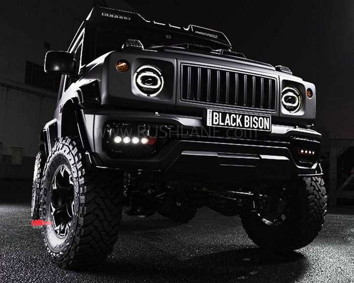 Suzuki Jimny gets its toughest 4x4 mod job yet - Black Bison by Wald