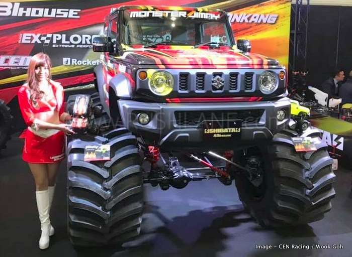 Suzuki Jimny monster truck debuts - Also offered as a RC car