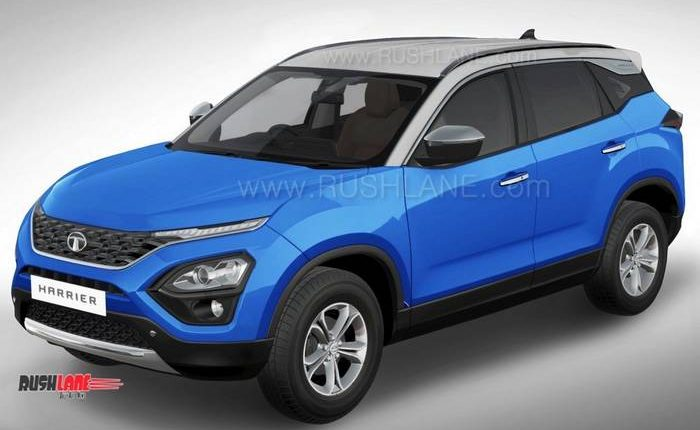 Tata Harrier Gets Range Rover Evoque Look Thanks To