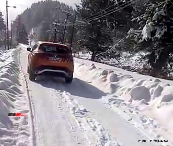 Good Cars For Snow: Tata Harrier Terrain Response System Ensures Excellent