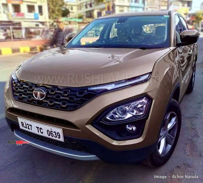 Tata Harrier Sales Pocket Book For Dealers Features