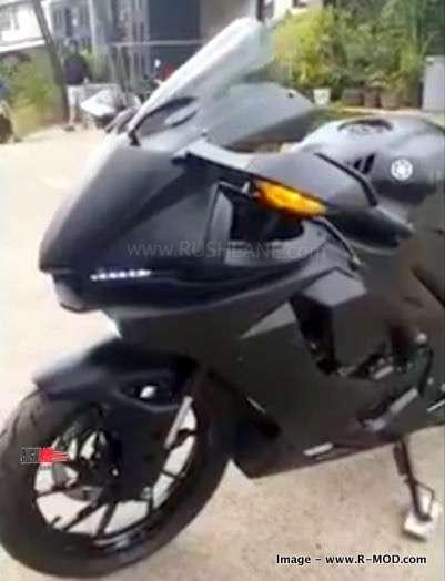 New Yamaha R15 V3 Aftermarket Bolt On Kit For Dark Knight Mode