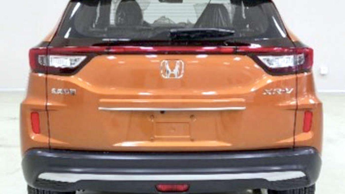 2019 Honda Xrv Facelift Leaked Front And Rear Design Detailed
