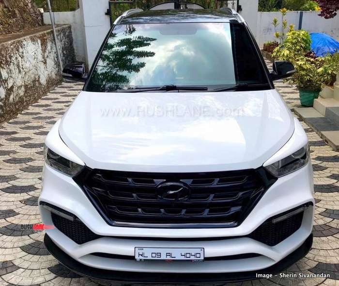 Hyundai Creta Modified By Owner For Rs 2 Lakhs Names It