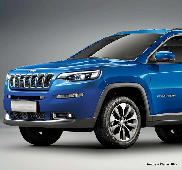 2020 Jeep Compass Facelift Render Based On New Jeep Family Design