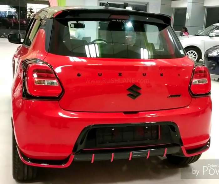 Maruti Swift Modified By Authorized Dealer Calls It