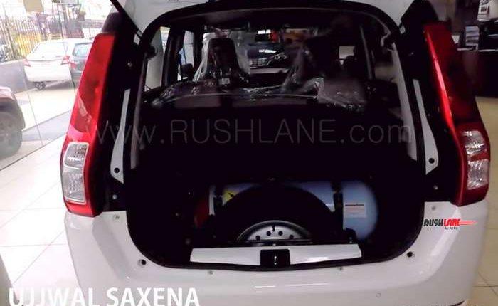 2019 Maruti Wagonr Cng Arrives At Dealer