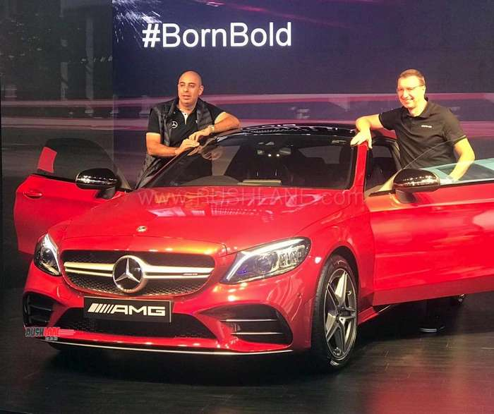 2019 Mercedes C 43 AMG Coupe India Launch Price Rs 75 L