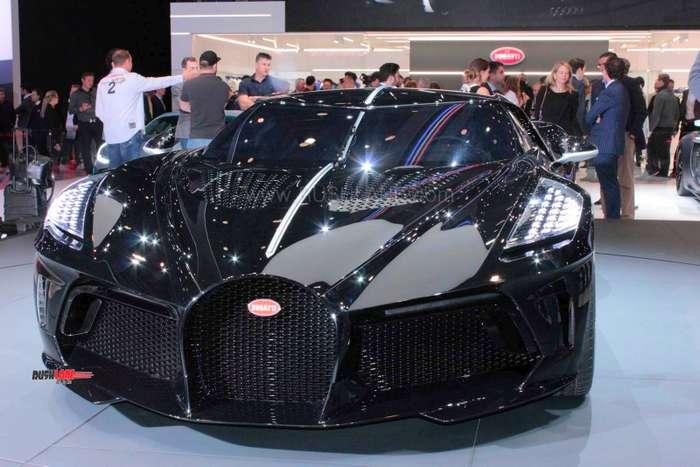 Bugatti Chiron Black Car price is Rs 118 crores - Most ...