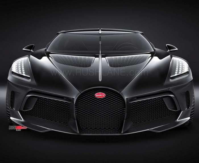 Bugatti Chiron Black Car Price Is Rs 118 Crores
