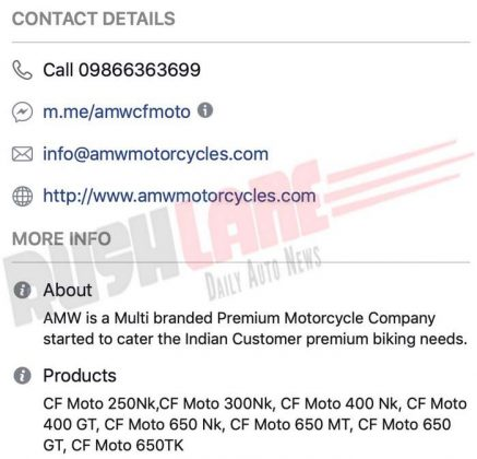 CF Moto 650 NK spy video out; hear its exhaust note