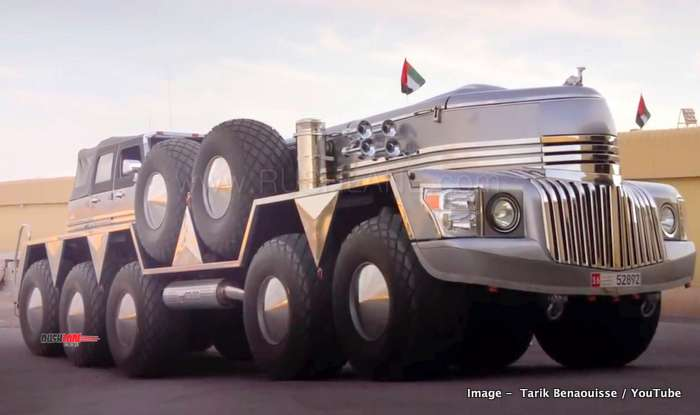 Jeep Wrangler Wheels >> Abu Dhabi Sheikh's custom SUV is built using Jeep Wrangler