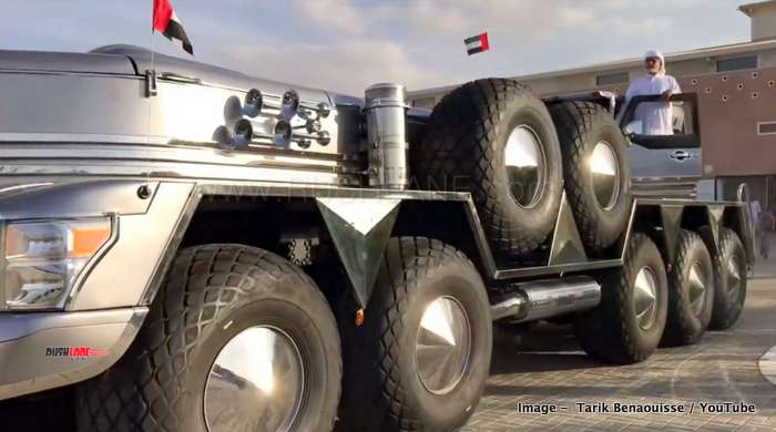 Build A Jeep Wrangler >> Abu Dhabi Sheikh's custom SUV is built using Jeep Wrangler ...