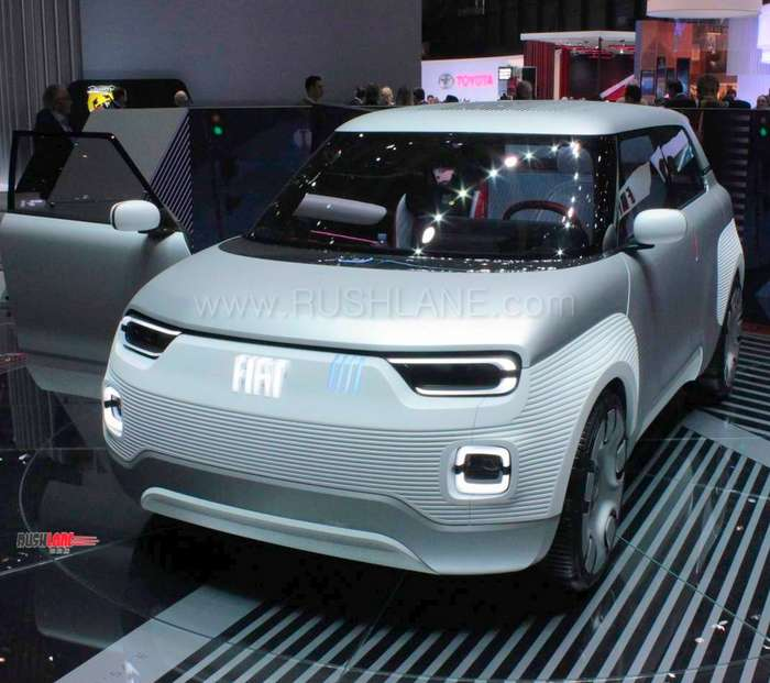 Fiat Panda Future Design Debuts As Centoventi Electric Concept