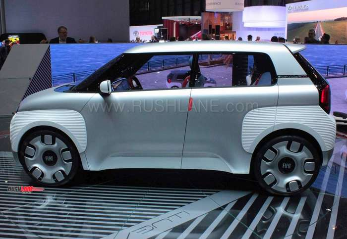 Fiat Panda Future Design Debuts As Centoventi Electric Concept