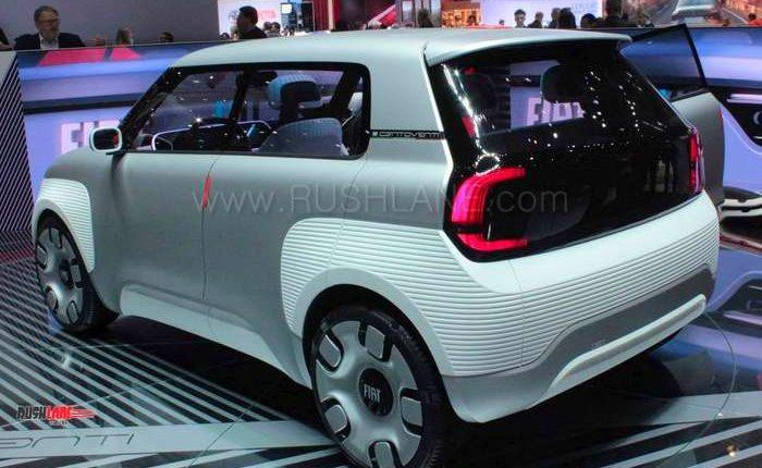 Us Auto Sales >> Fiat Panda future design debuts as Centoventi electric concept
