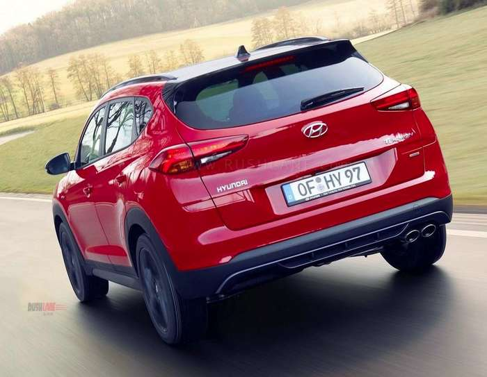 Hyundai Tucson gets sporty with the N Line treatment in Red