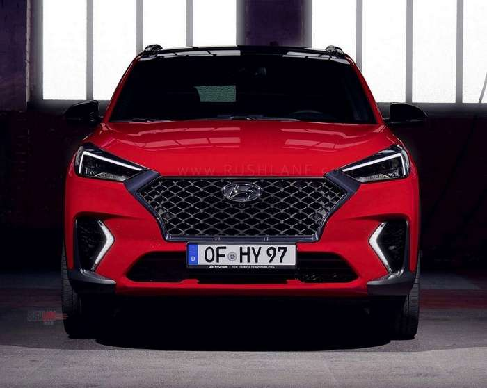 hyundai tucson gets sporty with the n line treatment in. Black Bedroom Furniture Sets. Home Design Ideas