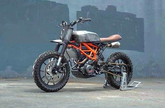 KTM Duke 390 modified